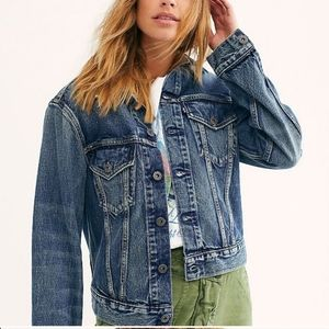 NEW Levi's Made & Crafted Boyfriend Trucker Jacket